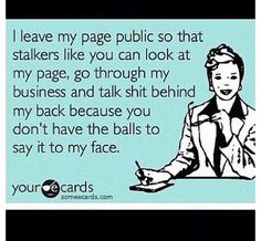Hahahaha... This truly made me lol .. Darn pintrest  people think that everything I post is bc of them.. WAKE UP, NO ONE wants to be like u EVER!!! I have an amazing life... MY TWO BOYS, a good job, family, our own home, and a relationship I am very happy in, so wake up and stop thinking ur better then everybody !
