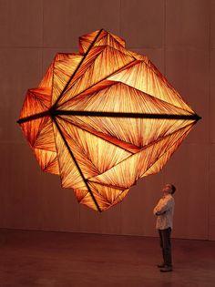 Pyramid lamp by Aqua Creations