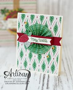 Crush On Colour: Stampin' Up! Artisan Design Team Blog Hop - Upcycling for…