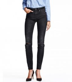 H&M Slim High Ankle Jeans