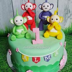 Image result for teletubby cake 22nd Birthday, 1st Birthday Girls, First Birthday Parties, First Birthdays, Birthday Cakes, Birthday Ideas, Teletubbies Cake, Third Baby, Cake Designs