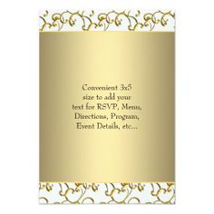 @@@Karri Best price          Gold White RSVP Personalized Invite           Gold White RSVP Personalized Invite We have the best promotion for you and if you are interested in the related item or need more information reviews from the x customer who are own of them before please follow the link to se...Cleck Hot Deals >>> http://www.zazzle.com/gold_white_rsvp_personalized_invite-161698430083279692?rf=238627982471231924&zbar=1&tc=terrest