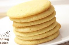 Vanilla Pudding Cookies by Lindsey