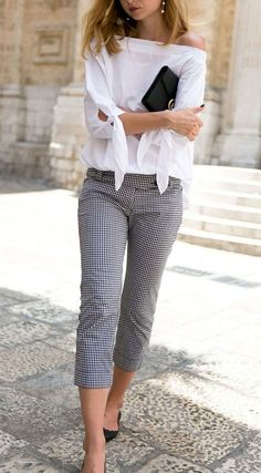 Elegant work outfit idea for every woman wear classy outfits, casual outfits, cute outfits Business Casual Outfits, Office Outfits, Outfits Casual, Black Outfits, Office Wear, Mode Outfits, Fashion Outfits, Womens Fashion, Spring Work Outfits