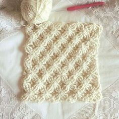 Crochet Stitch + Diagram + Video Tutorial