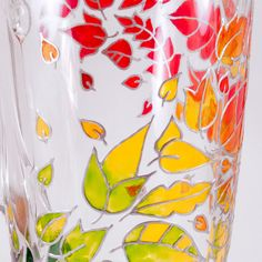 Fall Mug Hand Painted Coffee Mug Fall Gift Idea Autumn by Shuflada
