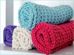 Crochet Doilies, Knit Crochet, Knit Dishcloth, Washing Clothes, Merino Wool Blanket, Pot Holders, Baby, Knitting, Christmas