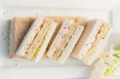 Finger sandwiches, Fingers and Sandwiches on Pinterest
