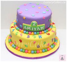 birthday cakes alphabet - Google Search