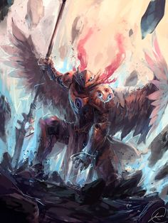Angel Knight, Jason Nguyen on ArtStation at https://www.artstation.com/artwork/angel-knight-ab20f736-3310-43ec-8714-abe4a1d077c5