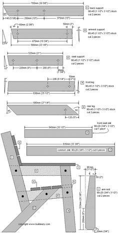 Free garden chair plans page 1   woodworking plans   Pinterest