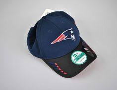 d777ac636ae New England Patriots New Era 9Forty Mens Adjustable Hat Team Headwear NFL