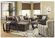 Dark Grey Living a Room Furniture