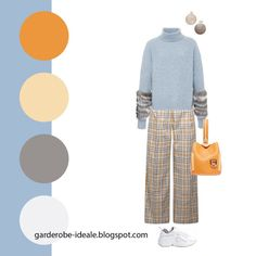Colour Combinations Fashion, Color Combinations For Clothes, Color Combos, Colourful Outfits, Colorful Fashion, Seasonal Color Analysis, Clothing Photography, Color Pairing, Color Balance
