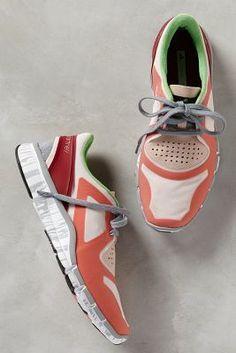 Adidas by Stella McCartney Adipure Sneakers Toasted Orange Sneakers #anthrofave