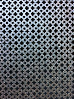 Steel Moroccan style wall panel or divider.