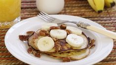 Pancakes de banana con 2 ingredientes