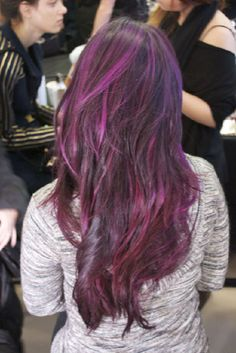 I want this hair! Ah corporate america why are you so uptight?!