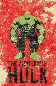 The Avengers by Jennifer Hernandez, via Behance