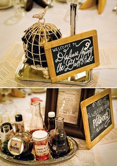"Magical ""harry potter romance"" bridal shower // hostess with the mostess® Baby Harry Potter, Harry Potter Tisch, Harry Potter Table, Harry Potter Motto Party, Harry Potter Fiesta, Harry Potter Thema, Cumpleaños Harry Potter, Harry Potter Baby Shower, Harry Potter Wedding"