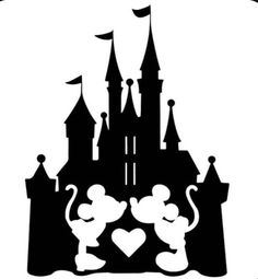 Disney Stencils, Disney Decals, Disney Art, Disney Fonts, Cajas Silhouette Cameo, Arte Do Mickey Mouse, Disney Cups, Pinturas Disney, Fathers Day Crafts