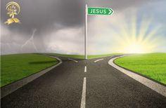 Cristo es el camino. Podemos tomarlo o dejarlo pero no podemos remplazarlo