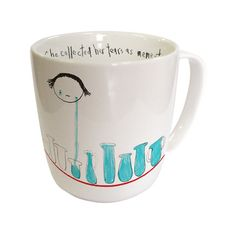 She Collected Her Tears Porelain Mug X Phillipa Finch, Third Drawer Down