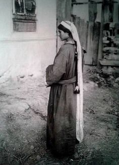 Kashmiri Pundit woman. 1939.