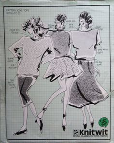 Two Knitwit Complete & Unused Patterns for ladies clothes Australian. Vintage Teddy Bears, Ladies Clothes, Clothes For Women, Selling On Ebay, Marketing And Advertising, Long Sleeve Tops, Sewing Patterns, Lady, Products