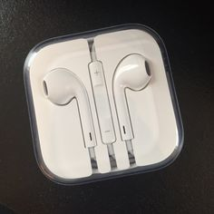 Apple Earbuds Brand New, Never used! Apple Accessories Phone Cases