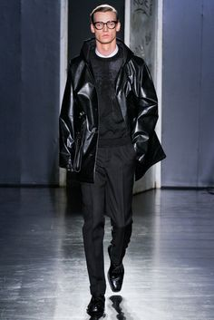 Jil Sander Fall 2012 Menswear Fashion Show