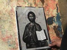 ''η τεχνική της αγιογράφησης του προσώπου και των χεριών.'' - YouTube Painting Videos, Baseball Cards, Youtube, Books, Tutorials, Livros, Libros, Book, Book Illustrations