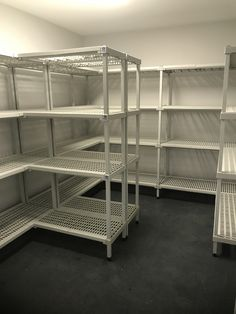 Shelving different widths, lengths and heights. Metal Fabrication, Shelving, Layout, Storage, Shelves, Purse Storage, Page Layout, Shelf, Shelving Units
