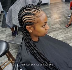 8 Gorgeous Braid Up Styles By Master Braider @sandrasbraids You Have To See [Gallery] - Black Hair Information
