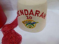 Vintage Fez Hat Dendarah 10 L O s of N A Toledo Ohio Shriners Hat with Case | eBay