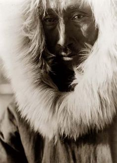 Here we present an historic image of Jajuk, an Eskimo Man. It was taken in 1929 by Edward S. Curtis.    The image shows Eskimo man, head-and-shoulders portrait, facing slightly left, wearing fur lined parka.    We have created this collection of images primarily to serve as an easy to access educational tool. Contact curator@old-picture.com.