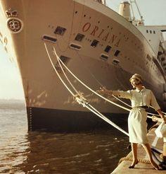 Model in Quay by Oriana Cruise Ship cruise ships