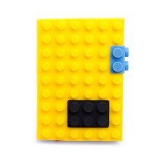 CADERNO LEGO AMARELO http://www.itcasa.com.br/papelaria/caderno-lego-amarelo.html#