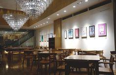 Cafe & Meal MUJI 新宿でイデーによる「インテリアとしてのポスター」展
