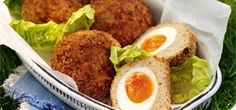Scotch eggs don't come much more special than this. Meaty, substantial and satisfying, these flavour-packed favourites will also save you 15+ Syns on supermarket picnic eggs.