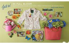 """""""In Full Bloom"""" (via C Wonder)."""