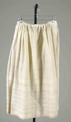Petticoat | American | The Metropolitan Museum of Art Vintage Outfits, Vintage Fashion, Vintage Clothing, Vintage Underwear, Costume Collection, Costume Institute, Historical Clothing, Cool Costumes, American