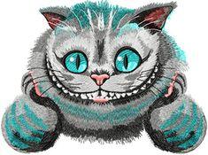 Cheshire Cat 4 machine embroidery design