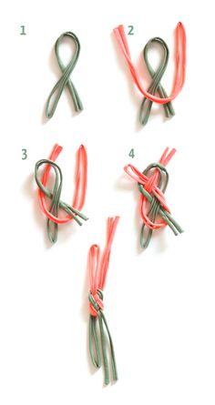 The perfect tutorial to make a DIY sailor bracelet!