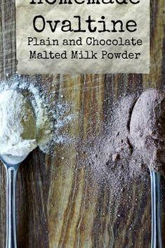 Ovaltine, Chocolate Malt, Malted Milk, Unprocessed Food, Food Names, Recipe Instructions, Powdered Milk, Unsweetened Cocoa, Vegetarian Chocolate