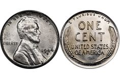 1944, 1944-D, 1944-S Steel Lincoln Cent