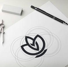 A Daily Source For Logo Design Inspiration — Beautiful skincare logo design pr. Logo Desing, Minimal Logo Design, Branding Design, Logo Branding, Creative Logo, Typography Logo, Art Logo, Logo Generator, Logo Creator