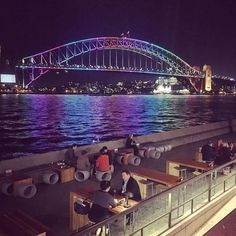 Watching the testing of the lights for vivid Sydney #vivid #vividsydney #sydney #australia #love #ilovesydney #seeaustralia #visitsydney #newsouthwales #sydneyharbourbridge #sydneyharbour #australiagram #bridge #sydney_insta #harbour #lights #pretty by bogan_barbie http://ift.tt/1NRMbNv