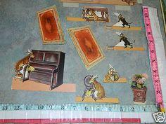 Raphael Tuck Litho Paper Dolls Victorian Wizard Wizzikins Animal Puppet Theatre | eBay