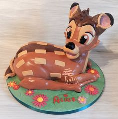 Bambi cake, all edible